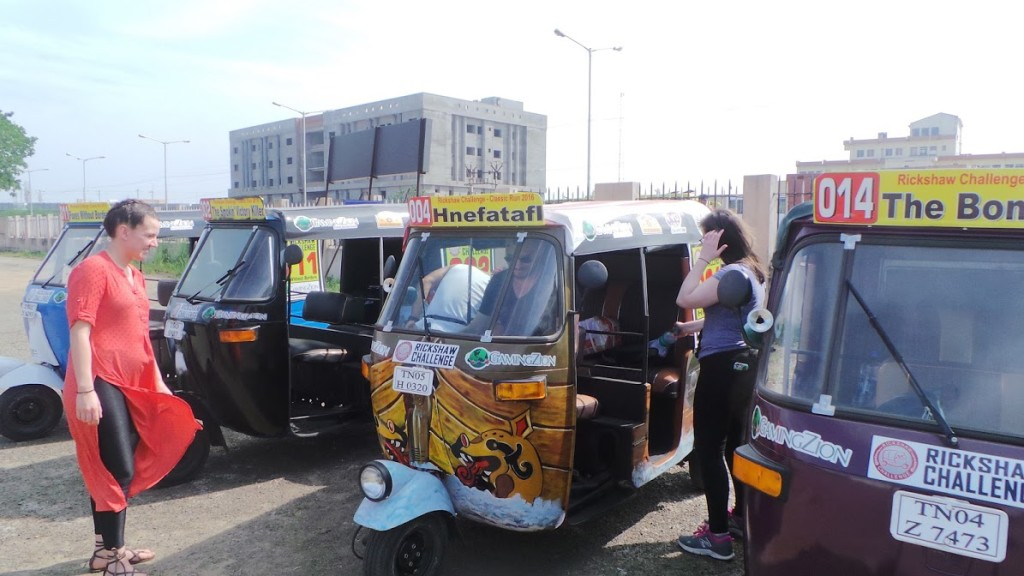 Rickshaws Come in All Sizes and Shapes