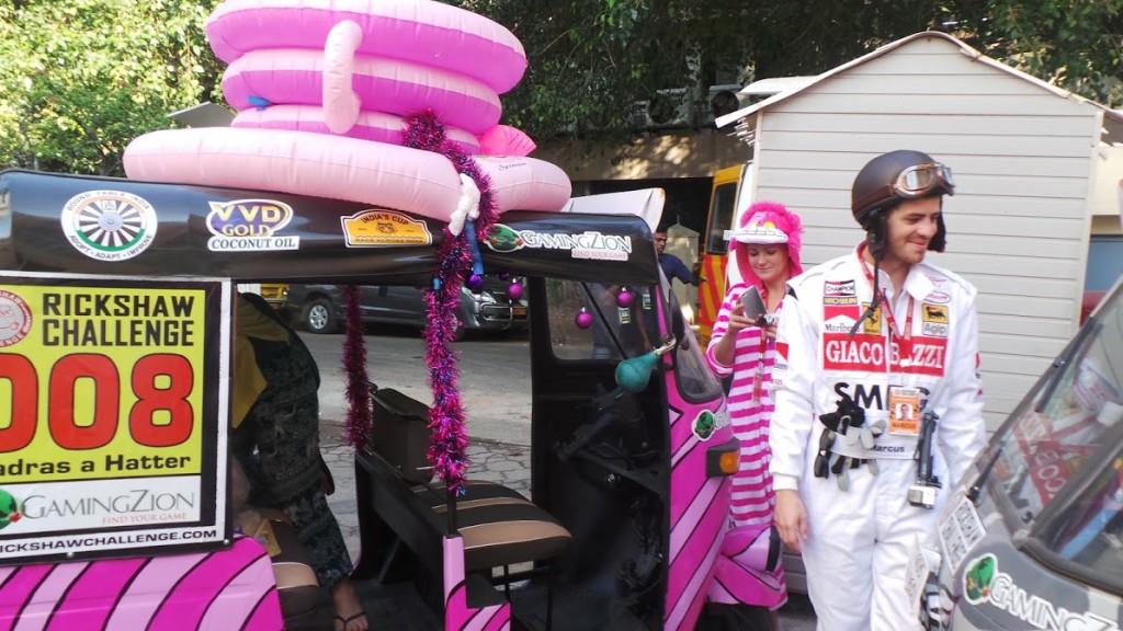 Rickshaws Tend to Look Like Their Drivers