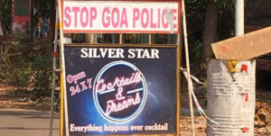 goa police cocktail