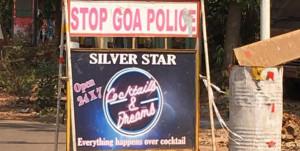 goa police cocktail