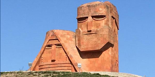 nagorno karabach famous statue
